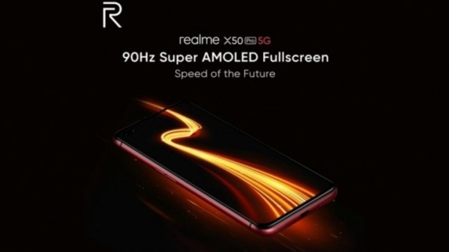 Realme X50 Pro 5G is will feature 65W SuperDart fast charging