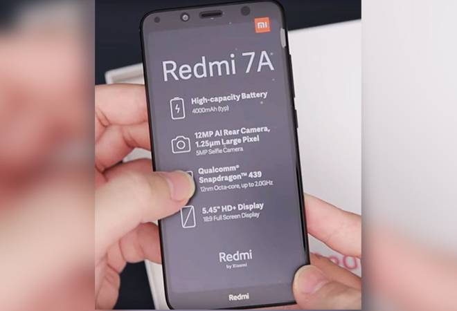 Xiaomi Redmi 7A budget smartphone to launch in India today; check specs, price in India