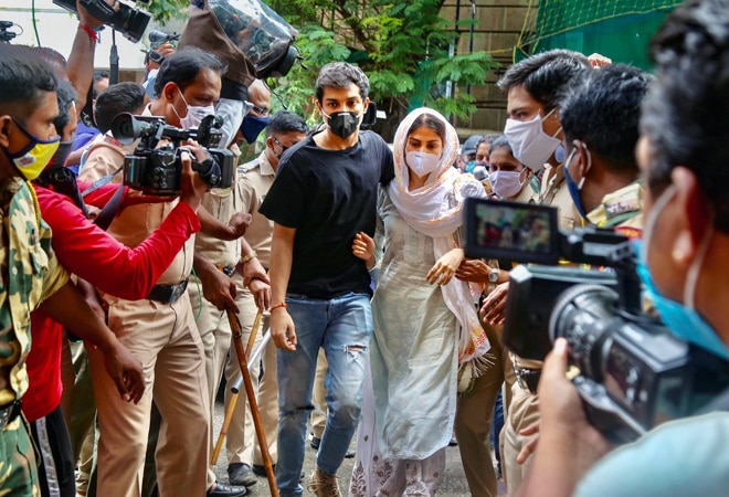Sushant Singh Rajput case: Court extends judicial custody of Rhea Chakraborty, brother Showik till October 20