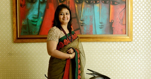 Richa Agarwal, founder of Emami Chisel Art in Emami group, Kolkata