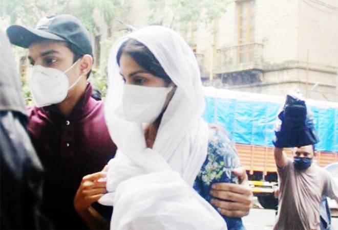 Sushant Singh Rajput case: Rhea Chakraborty reaches ED office in Mumbai for questioning
