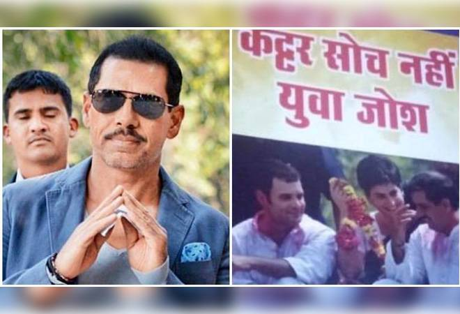 Robert Vadra drops hint at joining active politics in FB Post, BJP jeers on Twitter