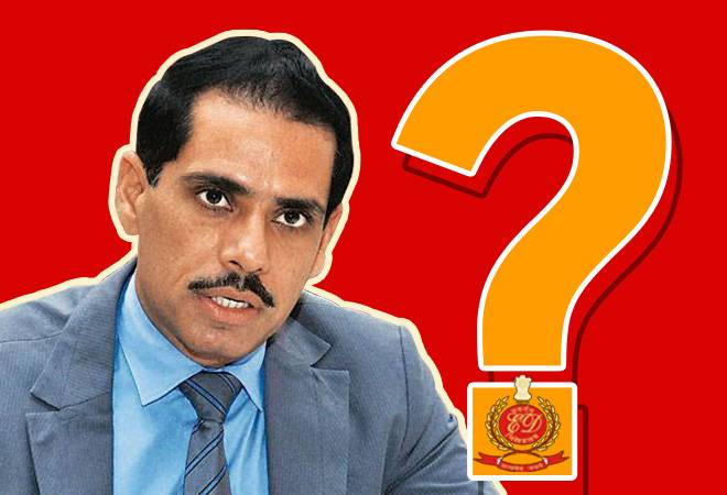 Another grilling session for Robert Vadra today as ED seeks more clarity in money laundering case