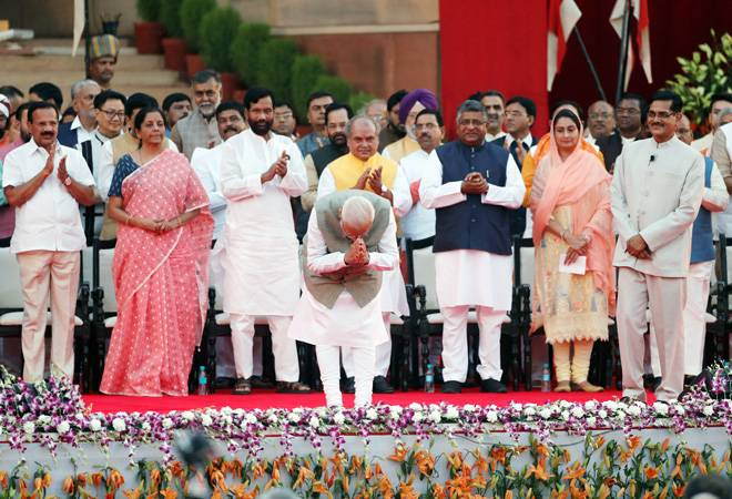 Narendra Modi swearing-in ceremony Live Updates: Modi takes oath as the Prime Minister of India