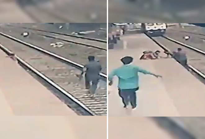 Railways employee saves child from approaching train receives praise from Piyush Goyal