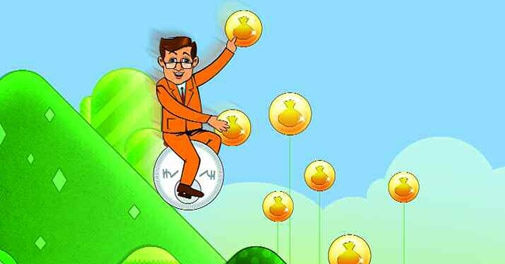 Gaining From The Rupee Fall