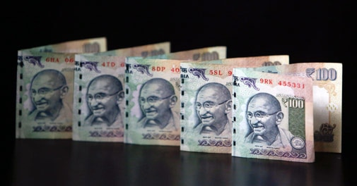 Rupee rises for 5th session, at 63.38 against dollar