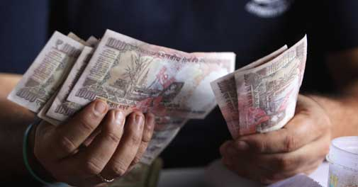 Behind rupee's rise against dollar
