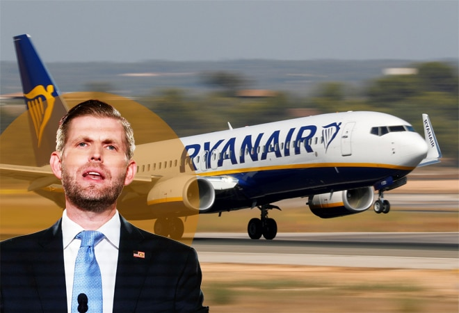 Ryanair takes dig at Eric Trump; says $11-flights available for him now