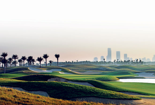 The golfing grasslands