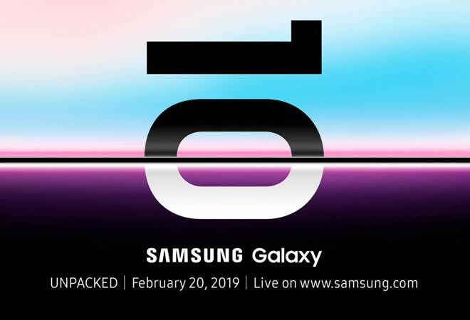 Samsung to launch Galaxy S10 and foldable phones on February 20