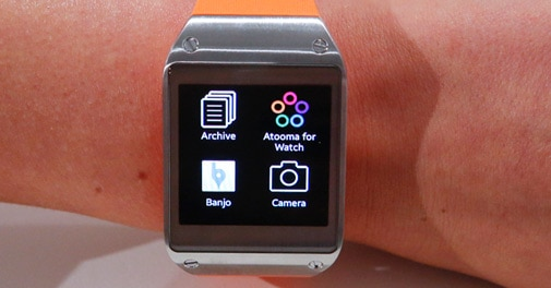 Samsung unveils 'Galaxy gear' smartwatch