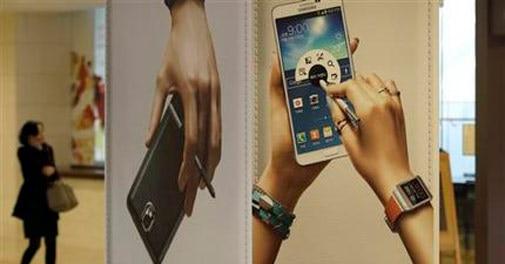 Samsung lower Q1 estimate shows smartphone challenges