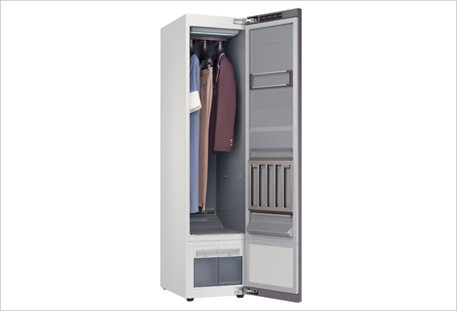 Now, clean clothes without washing! Samsung launches wardrobe-shaped AirDresser