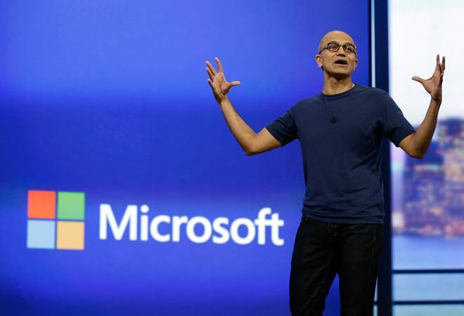 It's going to be man with machines: Nadella