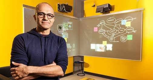 Satya Nadella named CEO at Microsoft
