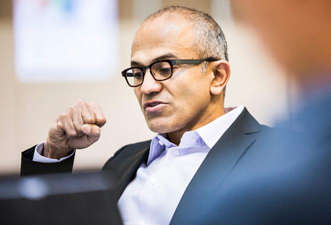 Microsoft Chief Executive Officer Satya Nadella
