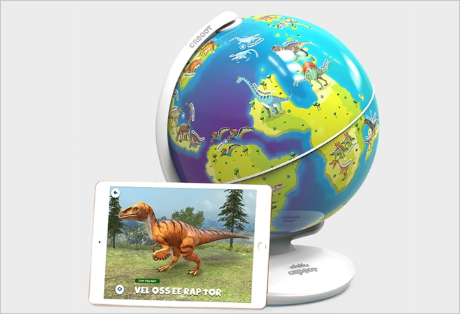 PlayShifu launches Orboot Dinos, a new AR globe for dinosaur lovers