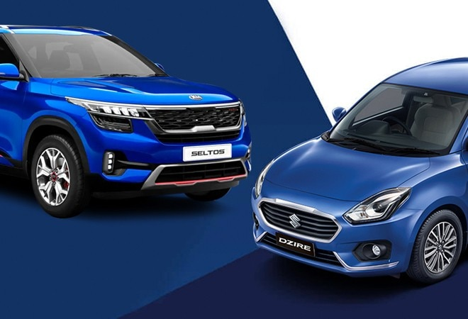 Maruti Suzuki dominates top-selling cars list; Kia Seltos breaks Hyundai Creta's sales record