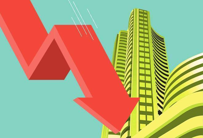 Sensex slips 260 points on loan relief by RBI, negative GDP growth projection