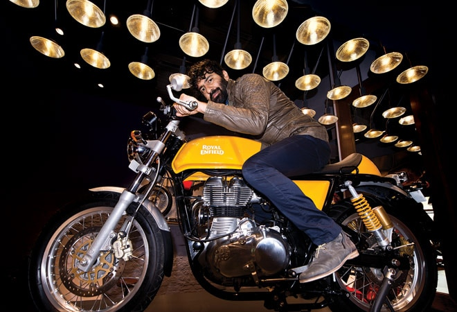 Siddhartha Lal, Managing Director and CEO of Eicher Motors