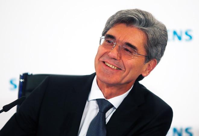President and CEO of Siemens, Joe Kaeser