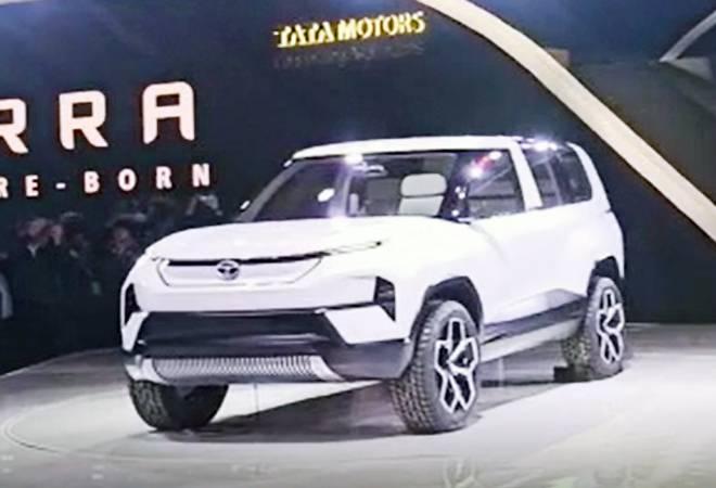 Auto Expo 2020: Tata Motors unveils HBX, Sierra Concept