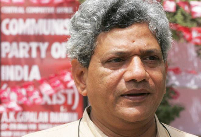 CPI(M) general secretary Sitaram Yechury on Wednesday slammed the government over the hike in train fares and the increase in cost of LPG cylinders. Here's what he said