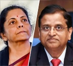 'Realised working with her would be difficult': Ex-Finance Secy says Sitharaman insisted on his transfer after acrimony