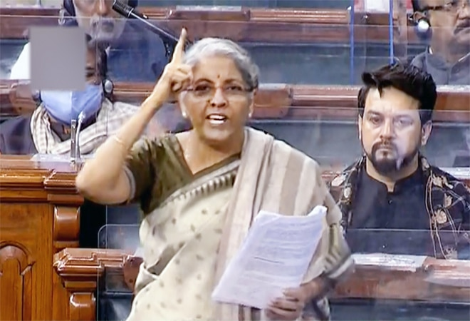 'Doomsday man of India,' FM Sitharaman tears into Rahul Gandhi over crony capital comment on budget