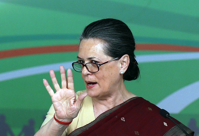 Sonia Gandhi asks govt to relax specifications for procuring foodgrains