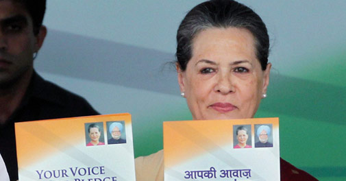 Congress manifesto promises 8% growth, host of new 'rights'