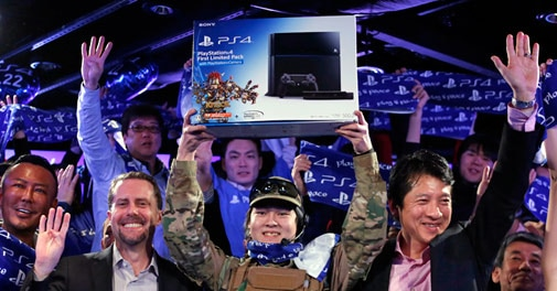 Beleaguered Sony counting on new game machine