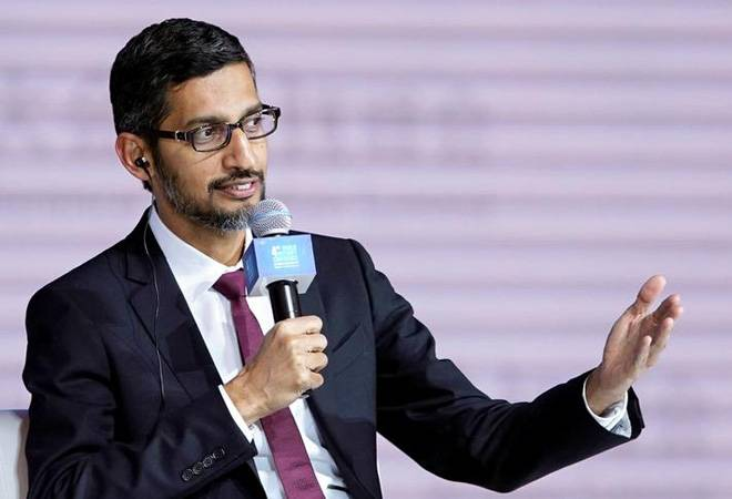 Sundar Pichai says Google is helping Chinese companies gain global access, helping businesses