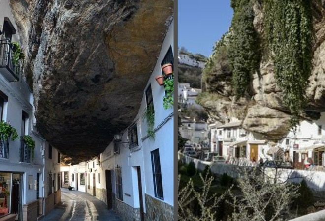In this Spanish town people are literally 'living under a rock'