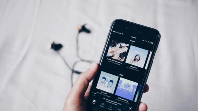 Spotify app. (Image: Unsplash)