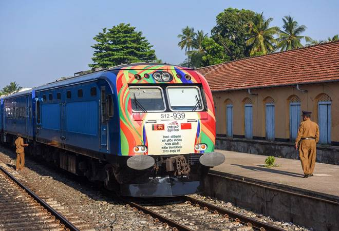 Sri Lanka builds fastest railway line first time after independence with China's assistance