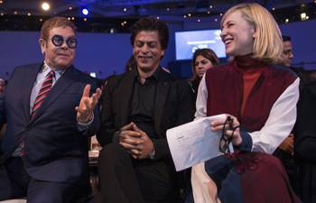WEF 2018: Shah Rukh Khan receives the Crystal Award for his work towards acid attack survivors