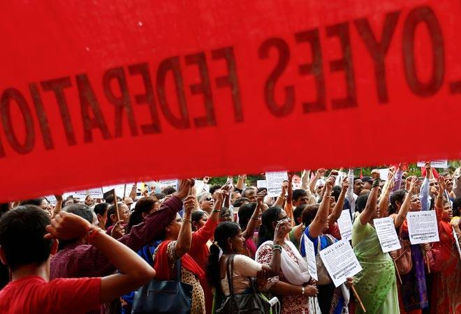 LIVE: Bharat Bandh: Trade unions protest against anti-labour policies