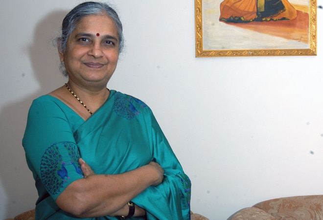 Sudha Murty to continue as Infosys Foundation Chairperson till 2021-end