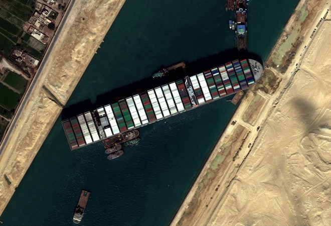 Suez Canal shipping backlog to end on Saturday