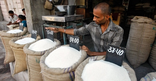 Commerce Ministry not looking at hiking sugar import duty