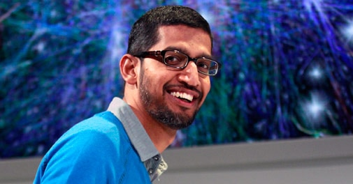 Sundar Pichai joins Nadella in top job race at Microsoft