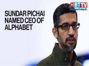 Sundar Pichai to replace Larry Page as CEO of Google parent Alphabet