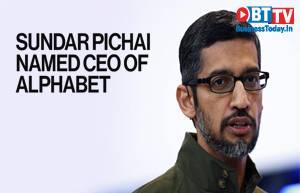 Sundar Pichai to replace Larry Page as CEO of Google parent Alphabet