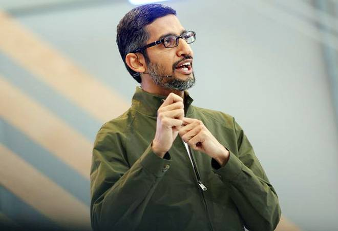 Google CEO Sundar Pichai celebrates Women's Day in Mumbai, spends time with students