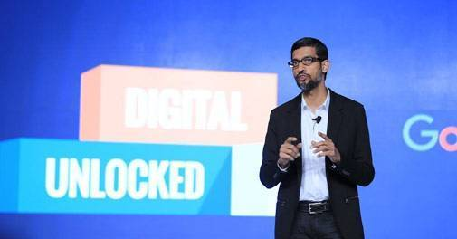 Google CEO Sundar Pichai donates Rs 5 crore to Give India