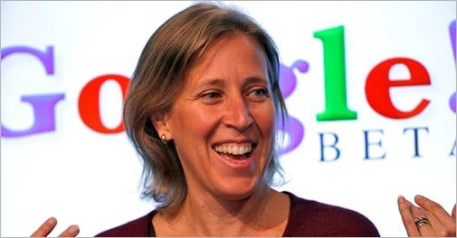 Google appoints Susan Wojcicki to head YouTube