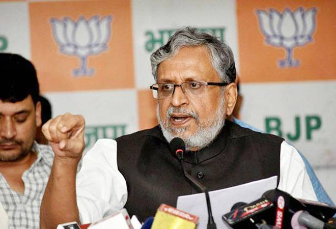 Rs 95,000 crore revenue collected under GST in October, says Sushil Modi
