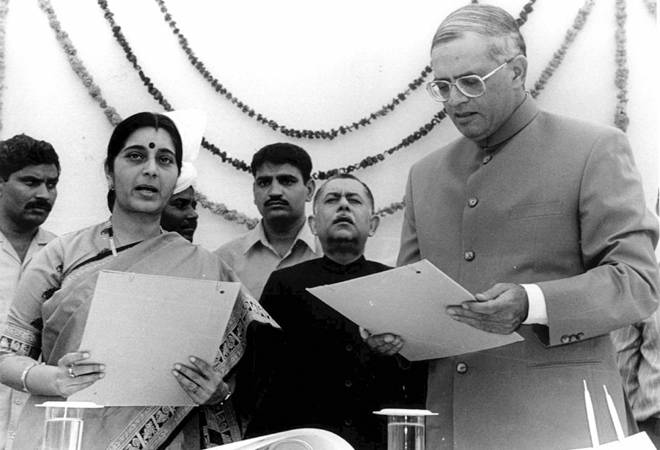 Sushma Swaraj's top achievements: From student leader in 1970 to Foreign Minister in 2014